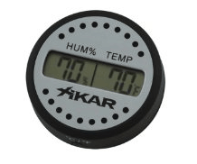 An inexpensive hygrometer can measure the humidity in your screen room better than you can guess it.