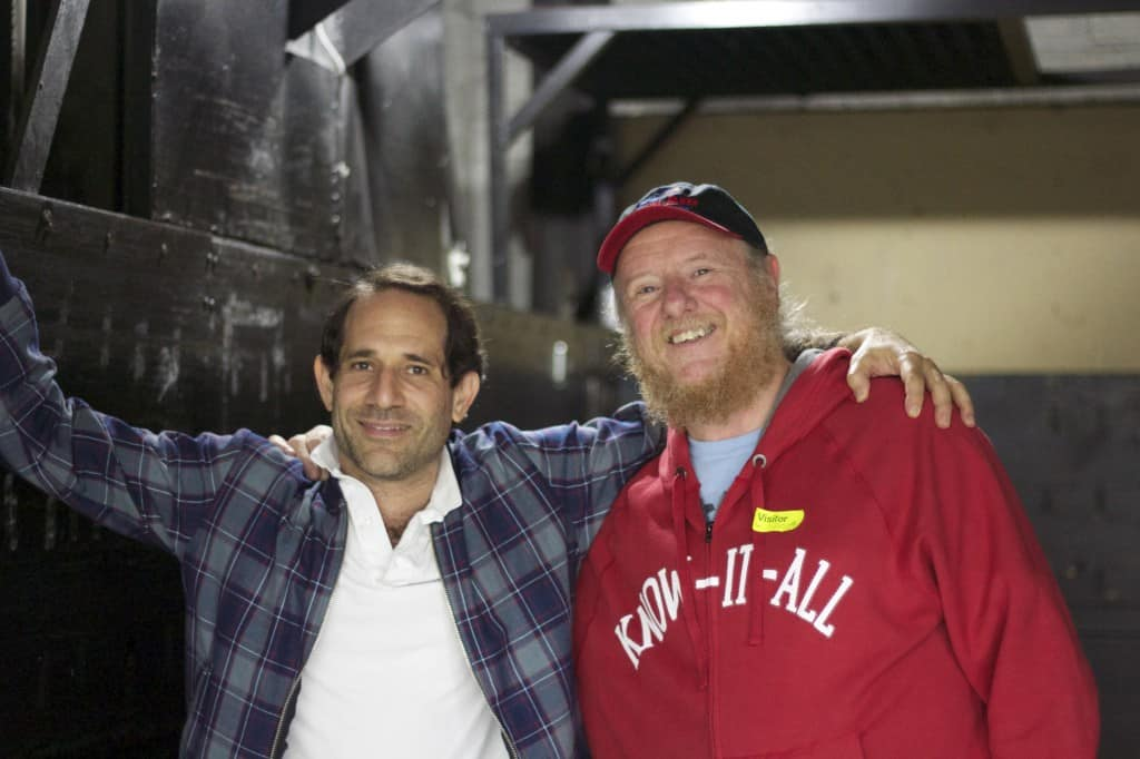 American Apparel CEO Dov Charney and Rick Roth