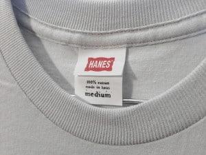 La camiseta Hanes Nano esta hecha de 30/1 's, 100% hilado de tela de algodón. De fácil impresión.