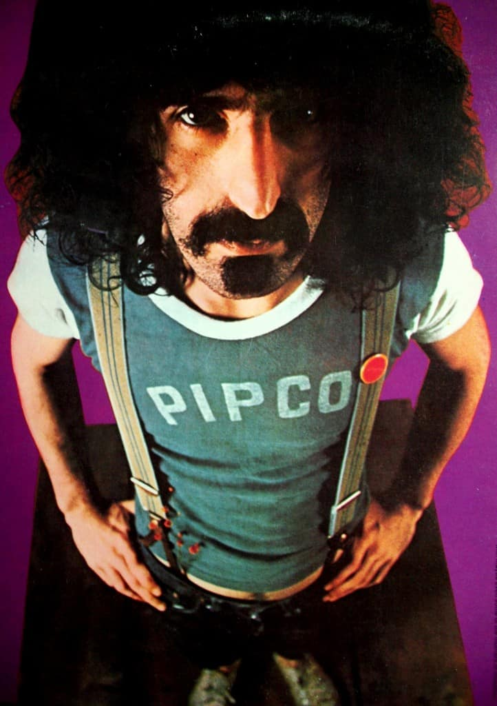 Frank Zappa. He will not be in Long Beach.