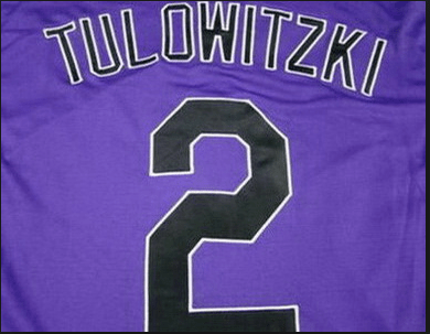 Tulo's Jersey spelled correctly.