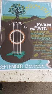 The Farm Aid 2014 Poster