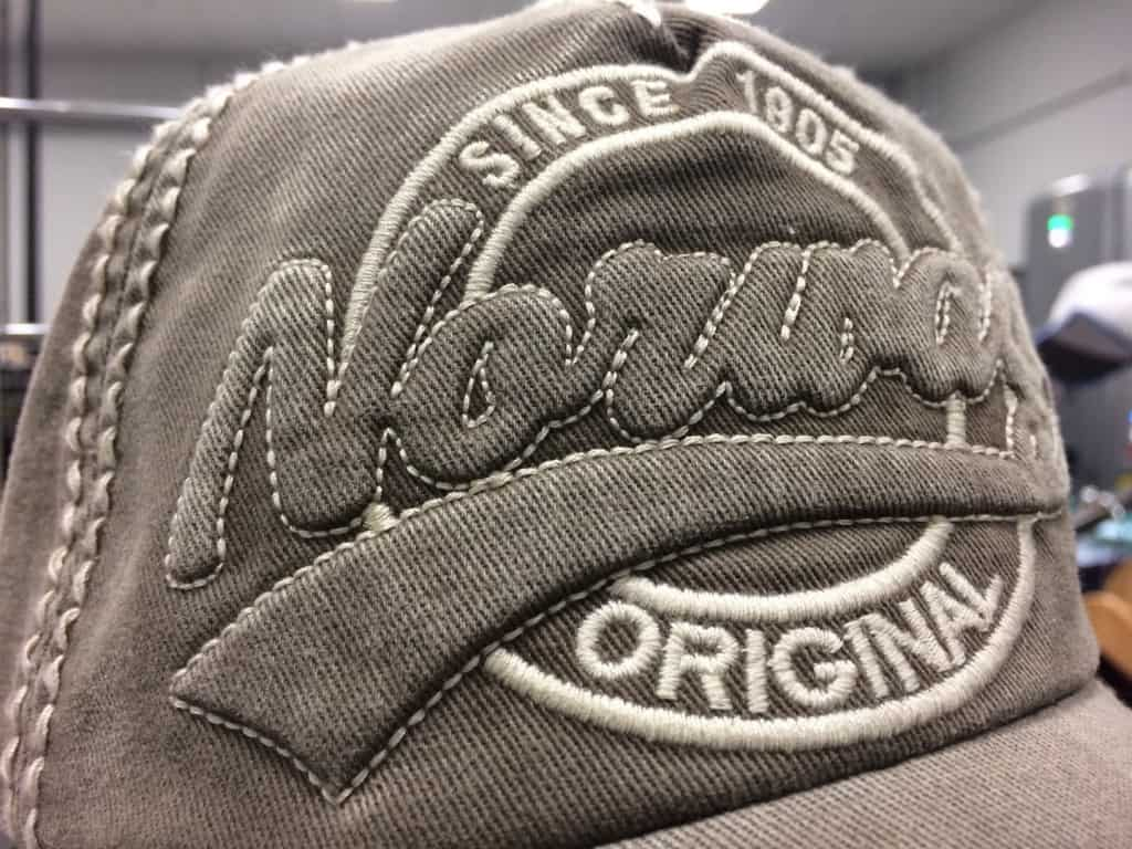 We saw some really sharp embroidery on caps using puff. There were some great adjustments they showed us, coming to an Ink Kitchen post soon...