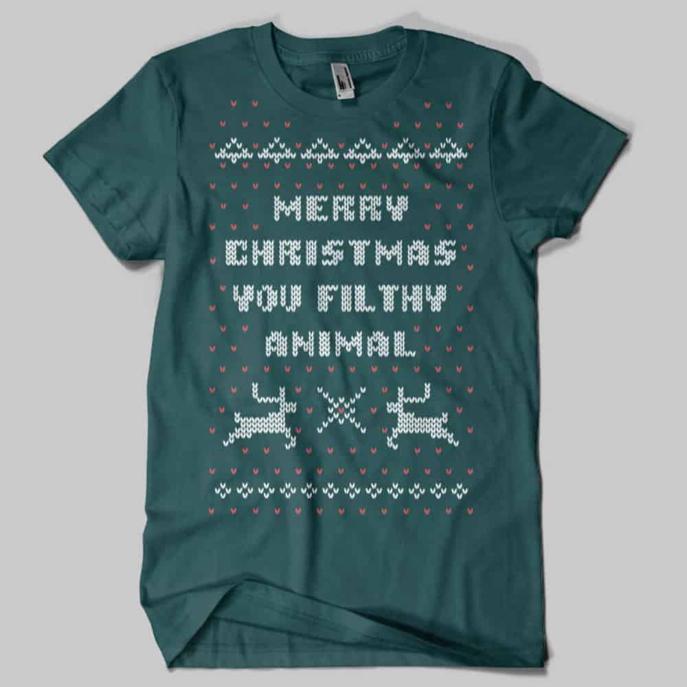 Ugly_Christmas_Sweater_Home_Alone_T-Shirt