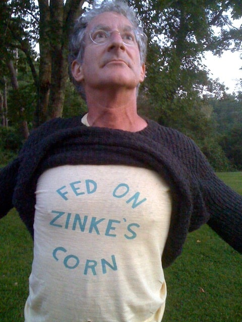 Don't be distracted by my nutty friend Bert, that shirt was printed in 1976. I helped my friend Lago hand cut the stencil. He was paid top dollar by the Zinke's to make about 12 shirts.