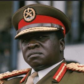 Idi Amin, brutal dictator of Uganda