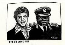 Ken Brown's Steve and Idi